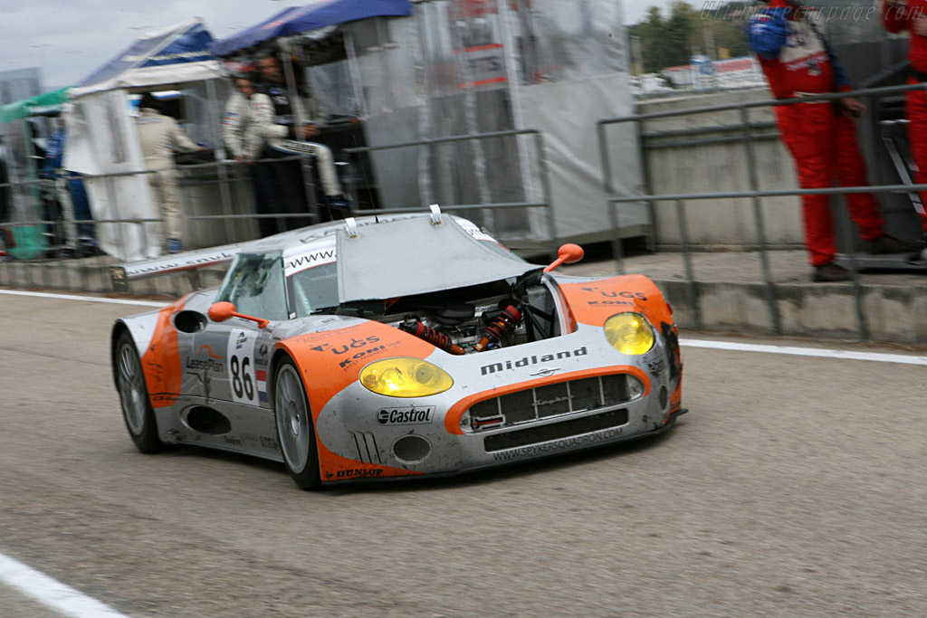 Spyker open house - Chassis: XL9CD31G55Z363046 - Entrant: Spyker Squadron  - 2006 Le Mans Series Jarama 1000 km