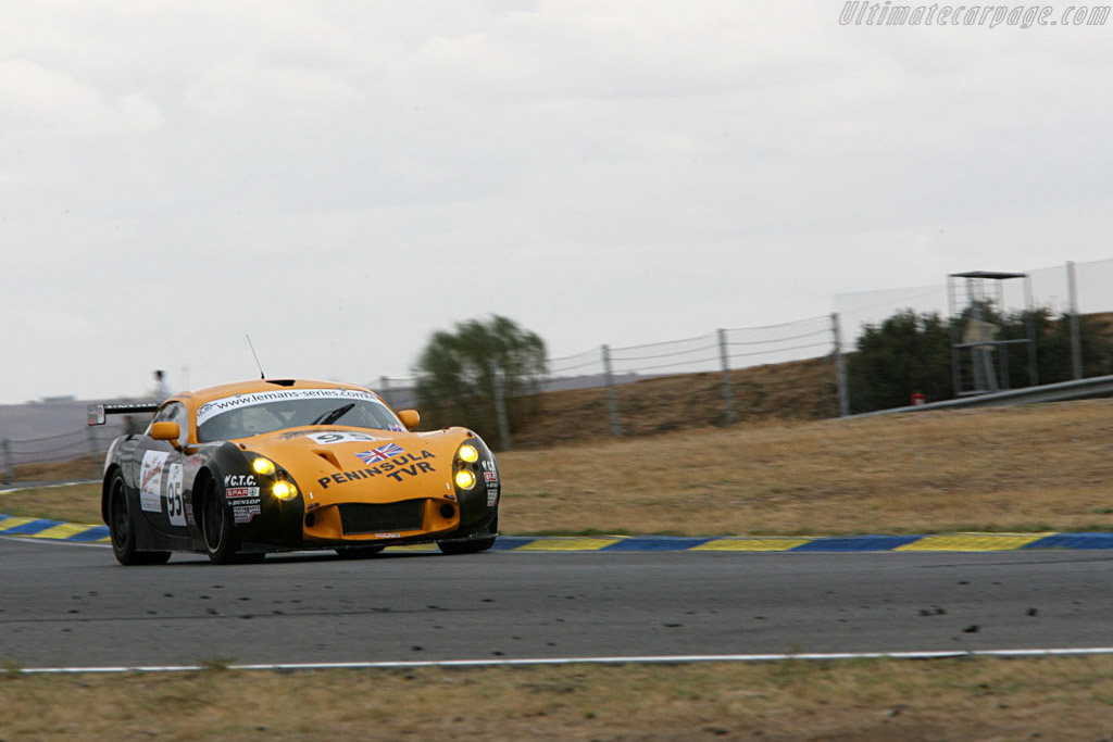 TVR Tuscan T400R - Chassis: SDLDA18A28001227 - Entrant: Racesport Peninsula  - 2006 Le Mans Series Jarama 1000 km