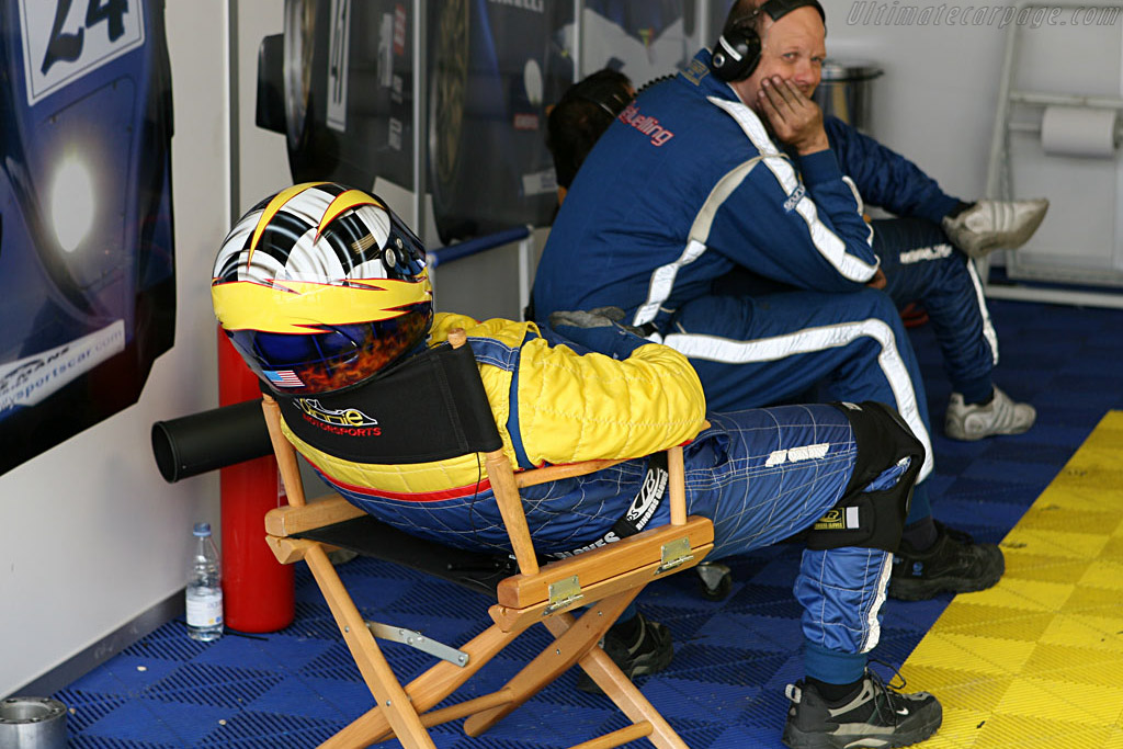 There was little time for sleep for Binnie's boys    - 2006 Le Mans Series Jarama 1000 km
