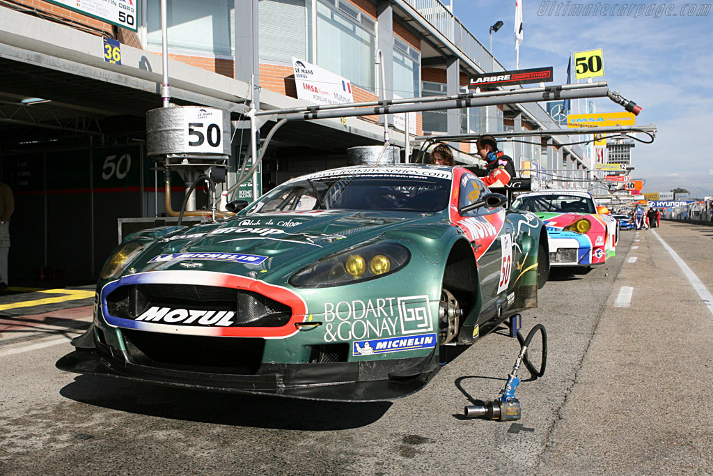Welcome to Jarama - Chassis: DBR9/1 - Entrant: Aston Martin Larbre  - 2006 Le Mans Series Jarama 1000 km
