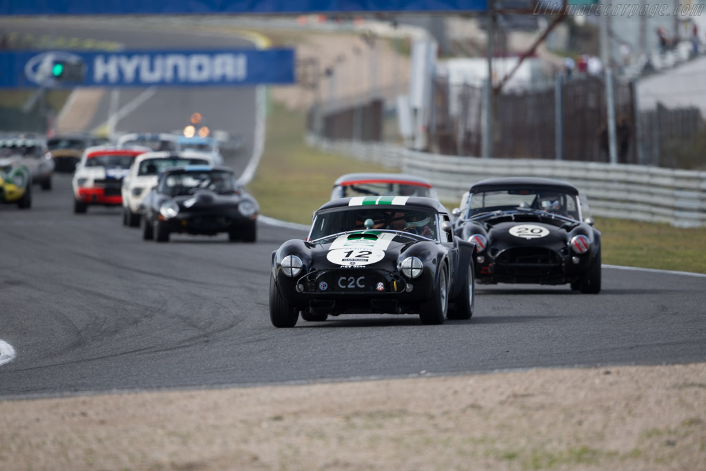 AC Shelby Cobra - Chassis: CSX2127 - Driver: Ludovic Caron  - 2016 Jarama Classic