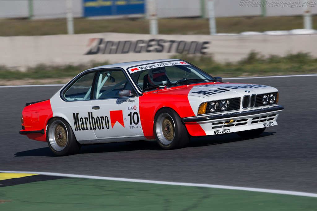 BMW 635 CSi  - Driver: Richard Hope / Geoff Steel  - 2016 Jarama Classic