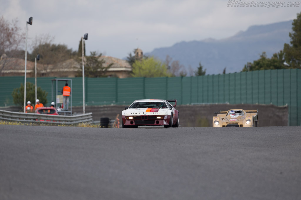 Bmw M1 Procar Chassis 4301063 Driver Peter Mulder