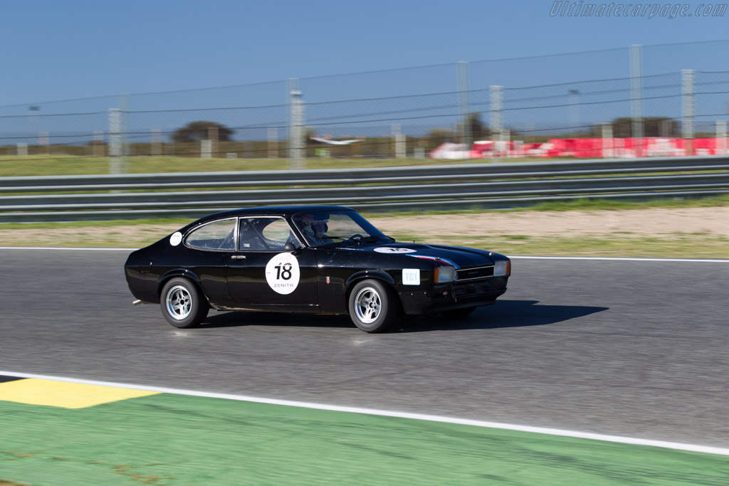 Ford Capri Mk2 - Chassis: GAECWD46413 - Driver: Gerard Cayeux  - 2016 Jarama Classic