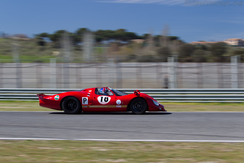 Ford F3L - Chassis: 002 - Driver: Claude Nahum / Bernard Thuner  - 2016 Jarama Classic
