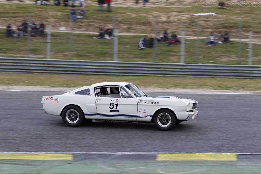 Ford Shelby Mustang GT350 - Chassis: SFM6S1071 - Driver: Ralf Huber Gutierrez  - 2016 Jarama Classic
