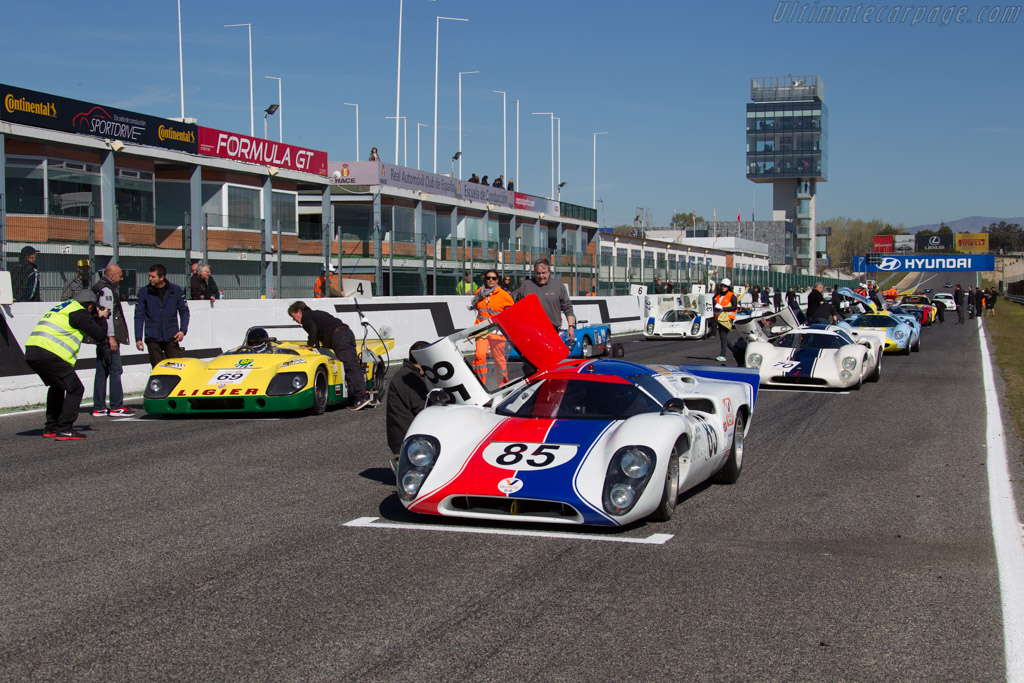 Lola T70 Mk3b - Chassis: SL76/141 - Driver: Grant Tromans / Richard Meaden  - 2016 Jarama Classic