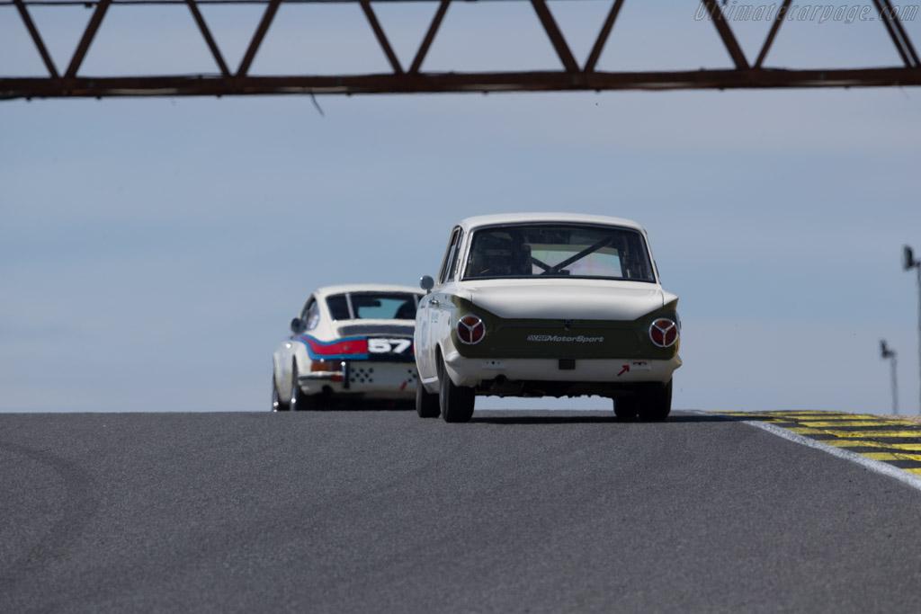 Lotus Cortina - Chassis: GA74FJ59465 - Driver: Luis Sousa Ribeiro  - 2016 Jarama Classic