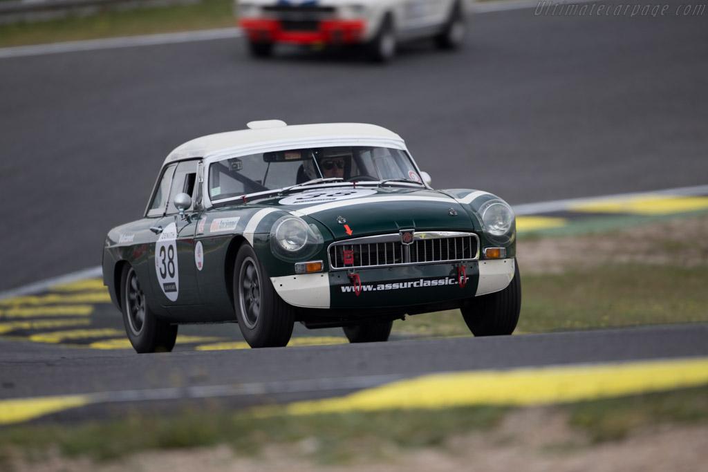 MG B - Chassis: GHN3/50971 - Driver: Jean Michel Godet / Nicolas Berthy  - 2016 Jarama Classic