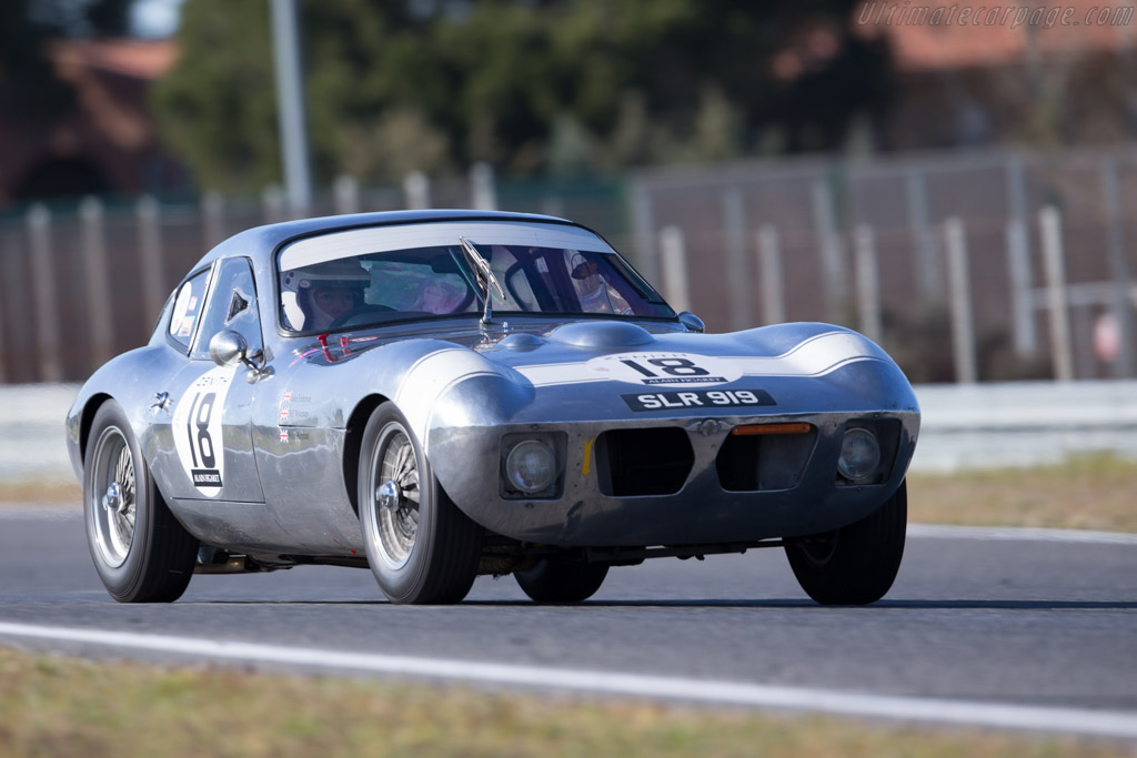Morgan +4 SLR - Chassis: SLR4 - Driver: John Emberson / Bill Wykeham  - 2016 Jarama Classic