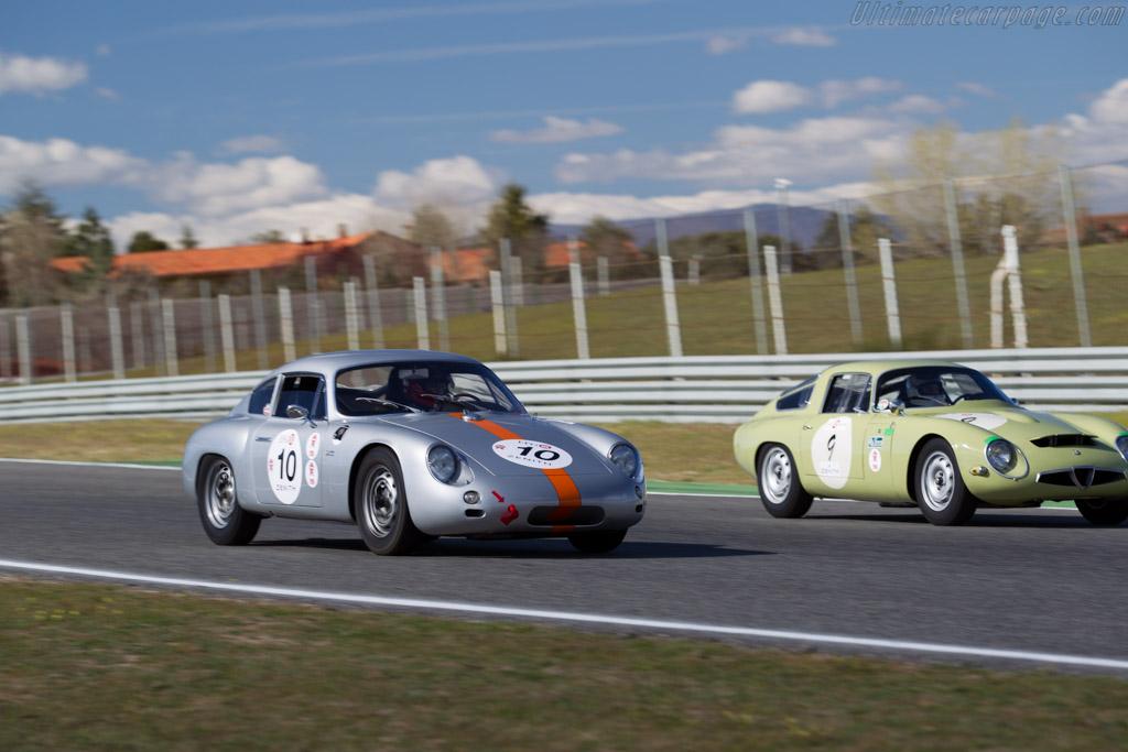 Porsche 356 Gtl Chassis 1010 Driver Peter Vogele