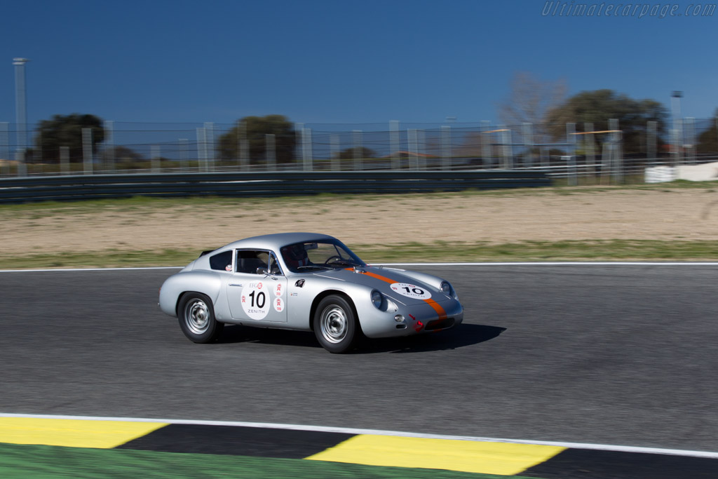 Porsche 356 GTL - Chassis: 1010 - Driver: Peter Vogele  - 2016 Jarama Classic