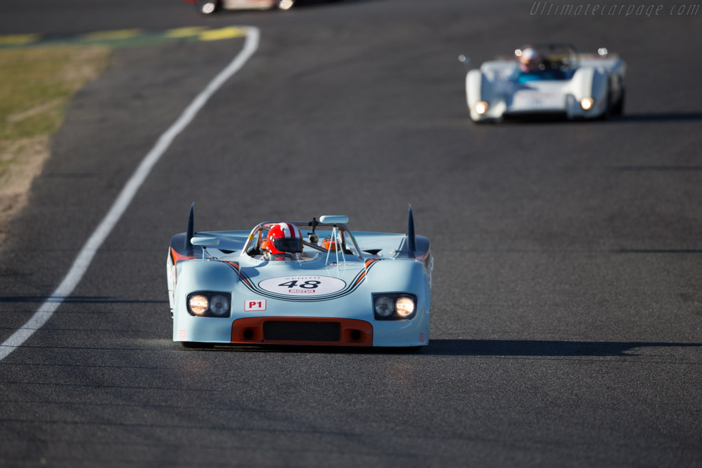 Porsche 908/3 - Chassis: 908/03-001 - Driver: Peter Vogele  - 2016 Jarama Classic