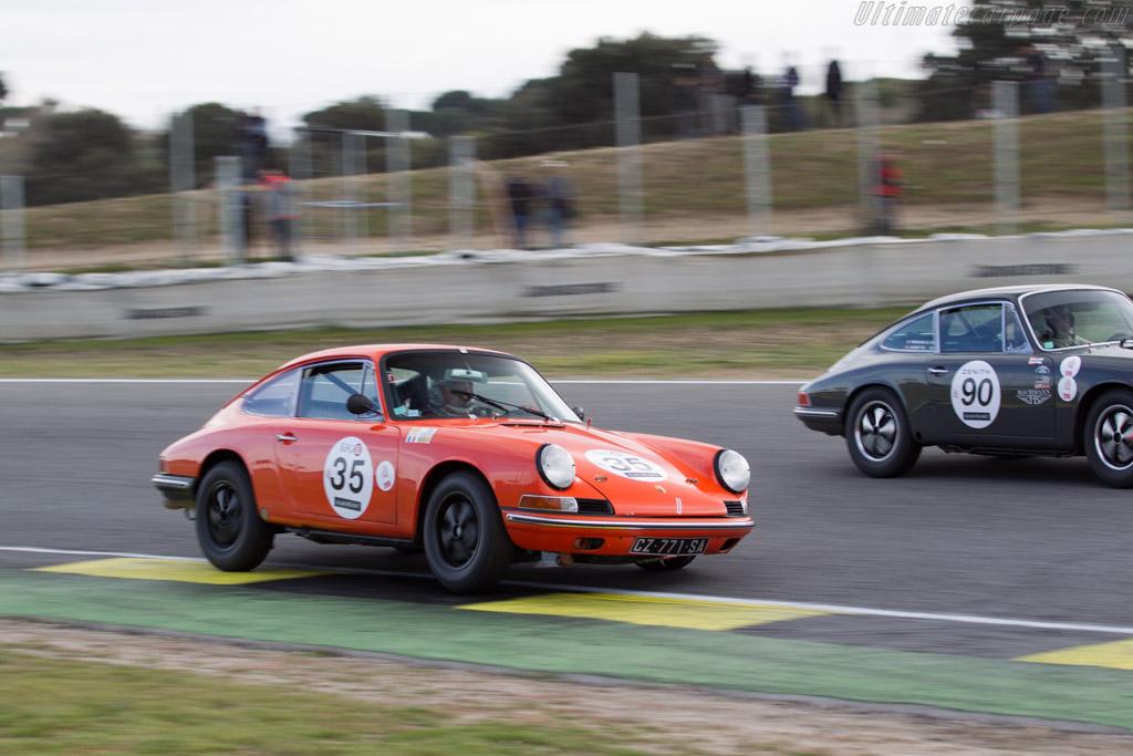 Porsche 911  - Driver: Eric Beloussoff / Benoit Lussaud  - 2016 Jarama Classic