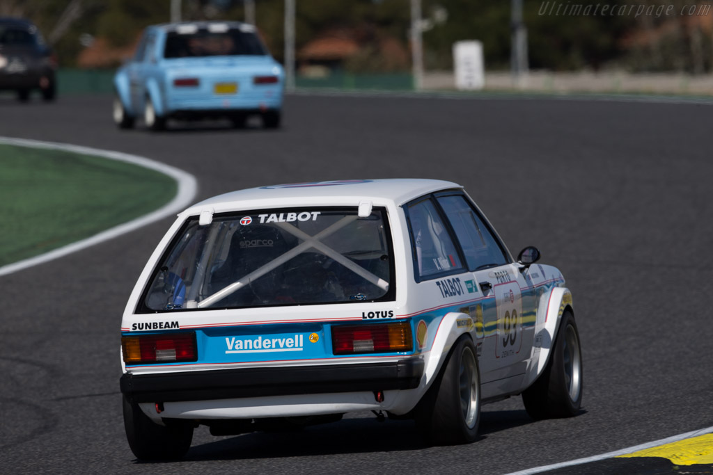 Sunbeam Talbot Lotus  - Driver: Vasco Nina  - 2016 Jarama Classic