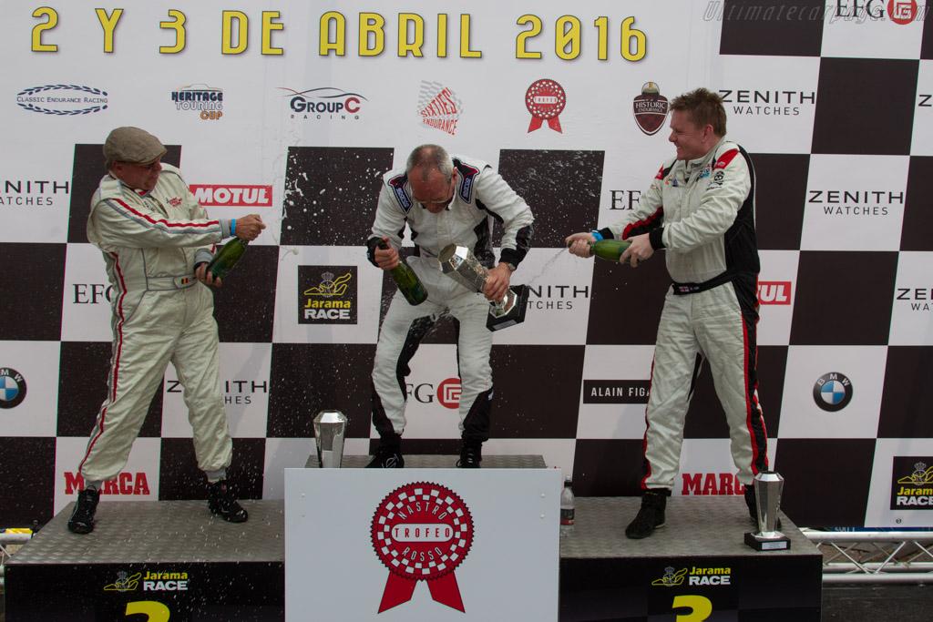 The winners  - Driver: Carlos Monteverde  - 2016 Jarama Classic