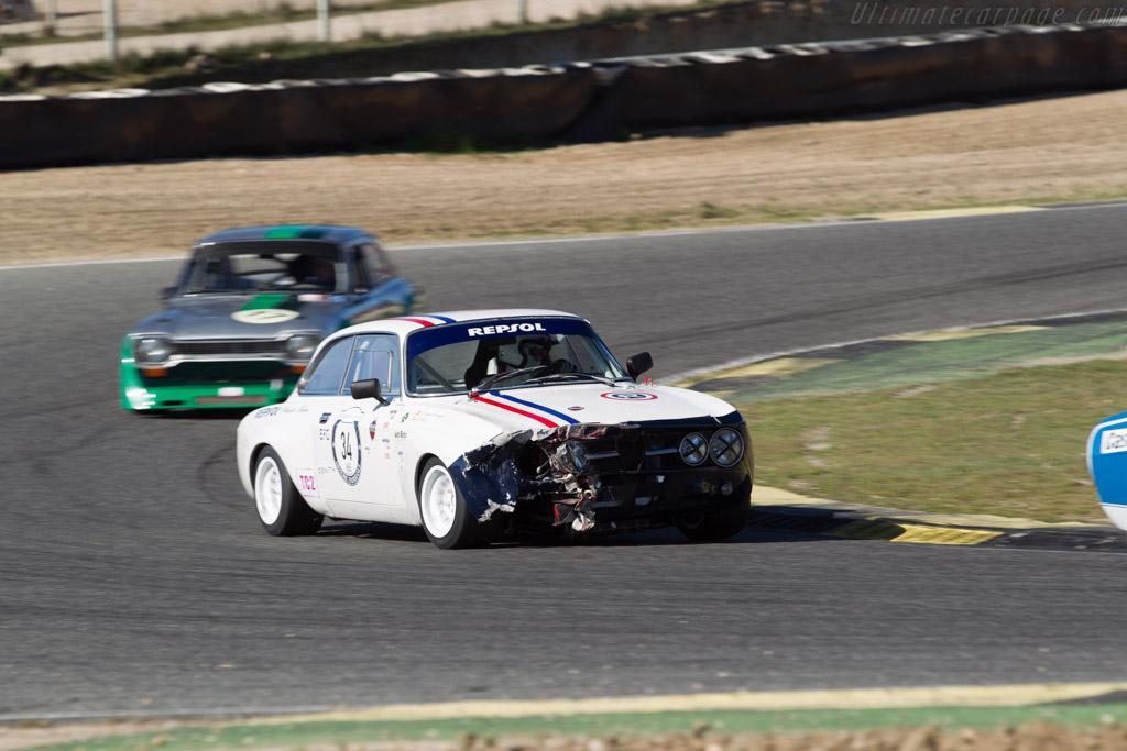 Alfa Romeo 1750 GTAm - Chassis: 1391671 - Driver: Carlos de Miguel / Luis Delso  - 2017 Jarama Classic