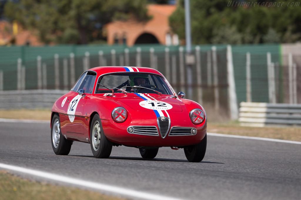 Alfa Romeo Giulietta SZ Coda Tonda - Chassis: AR10126 00086 - Driver: Jean Francois Piquet  - 2017 Jarama Classic