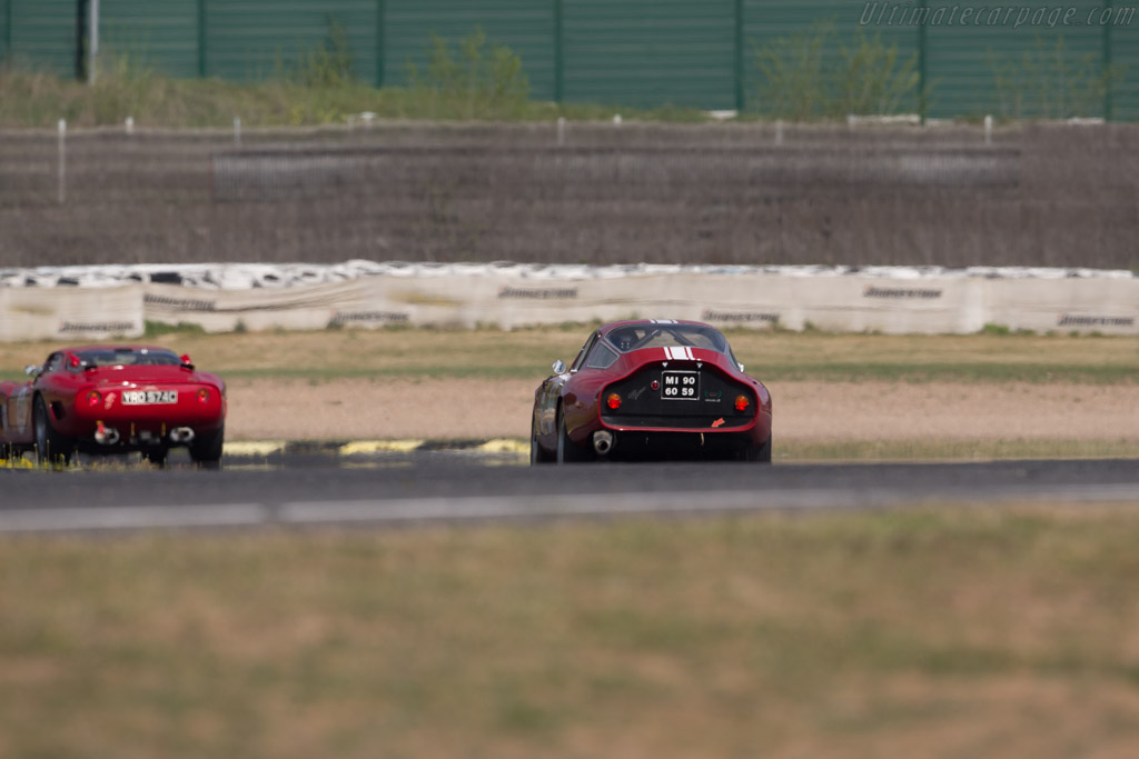 Alfa Romeo TZ - Chassis: AR750098 - Driver: Lucien Guitteny  - 2017 Jarama Classic