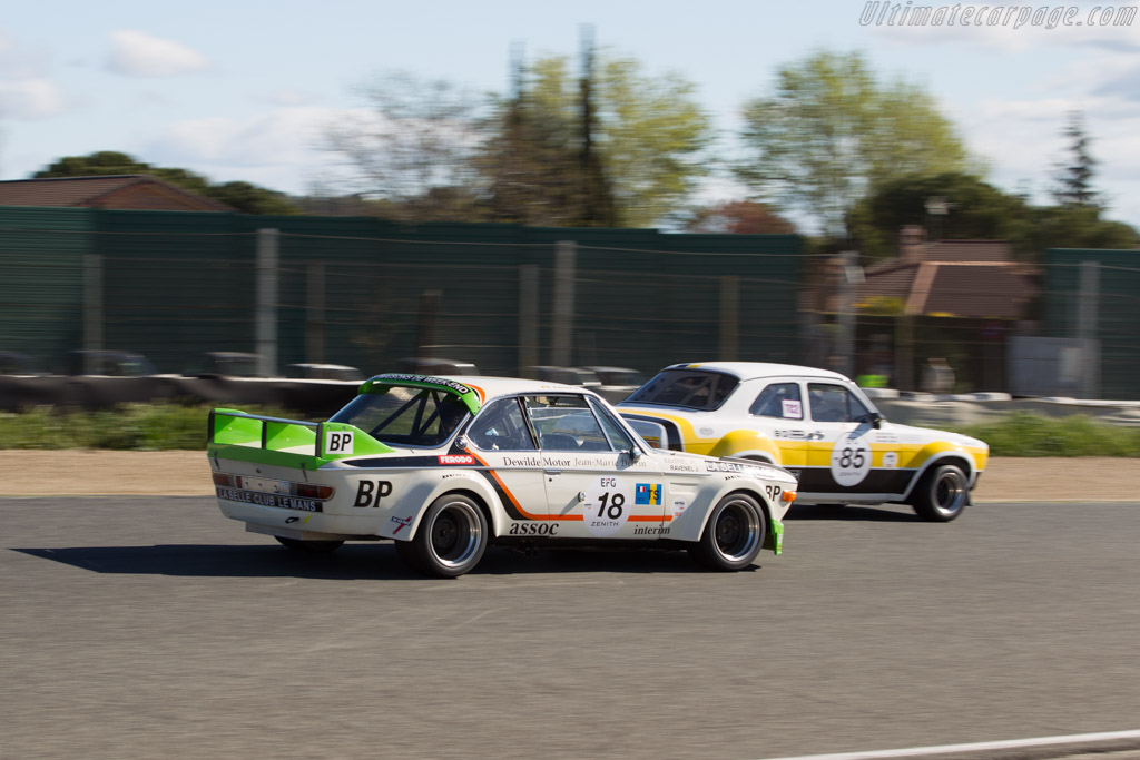 BMW 3.0 CSL - Chassis: 4340904 - Driver: Eric Everard  - 2017 Jarama Classic