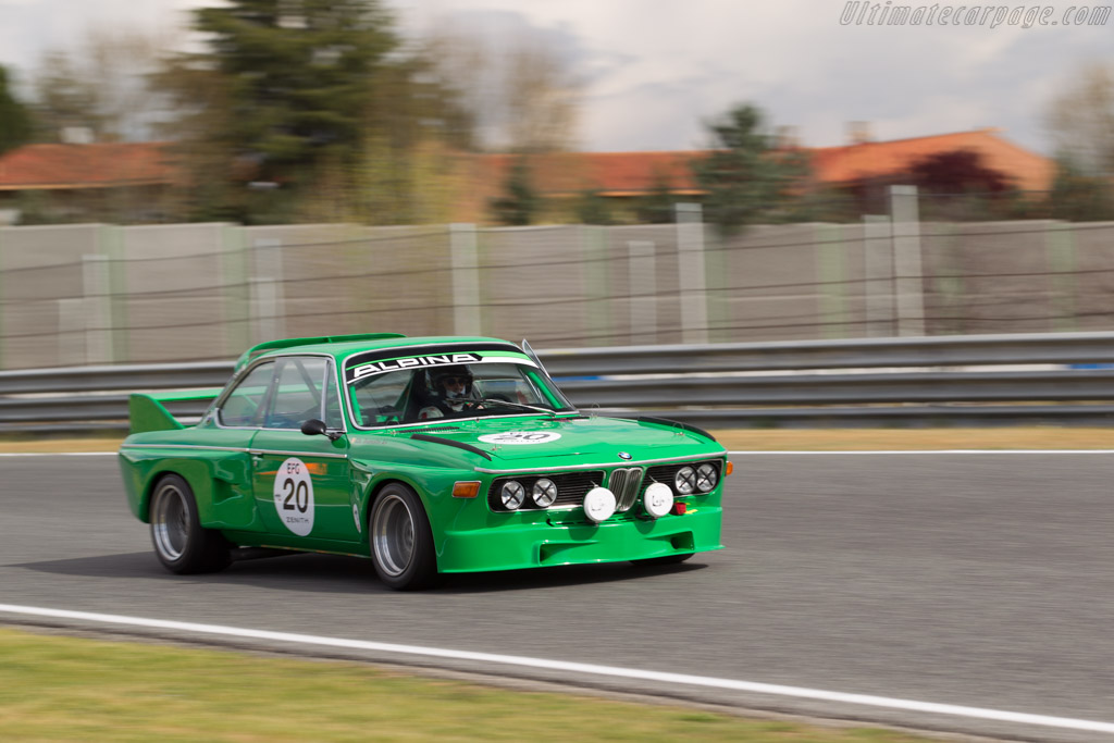 BMW 3.0 CSL - Chassis: 2240112 - Driver: Christian Dumolin  - 2017 Jarama Classic