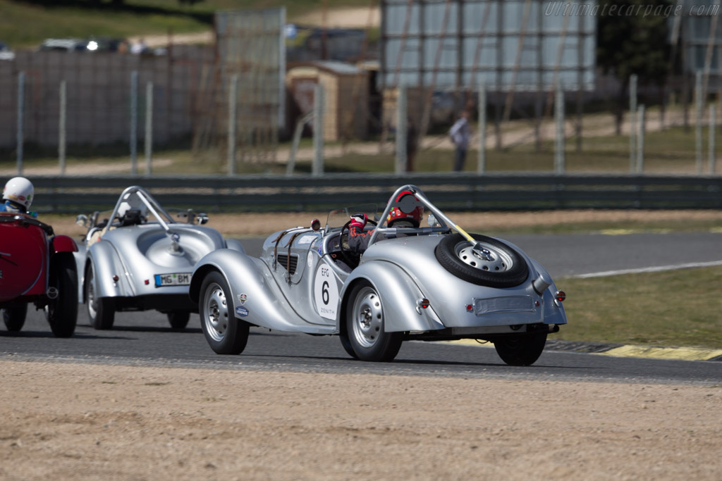 BMW 328 - Chassis: 85244 - Driver: Peter Muelder  - 2017 Jarama Classic