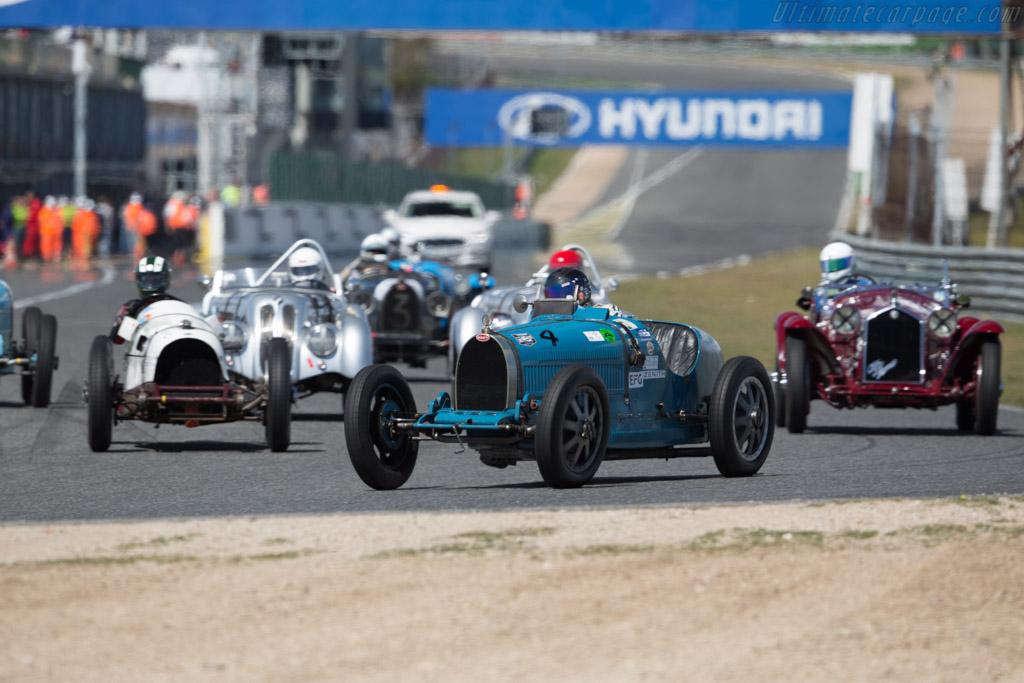 Bugatti Type 35C - Chassis: 4889 - Driver: Martin Halusa  - 2017 Jarama Classic