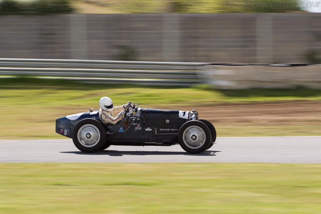 Bugatti Type 51  - Driver: Thierry Lafont  - 2017 Jarama Classic