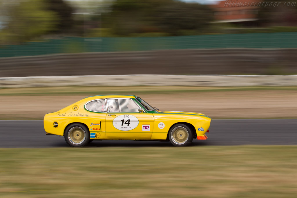 Ford Capri RS 2600 - Chassis: GAECMR57537 - Driver: Carlo Vogele / Yves Vogele  - 2017 Jarama Classic