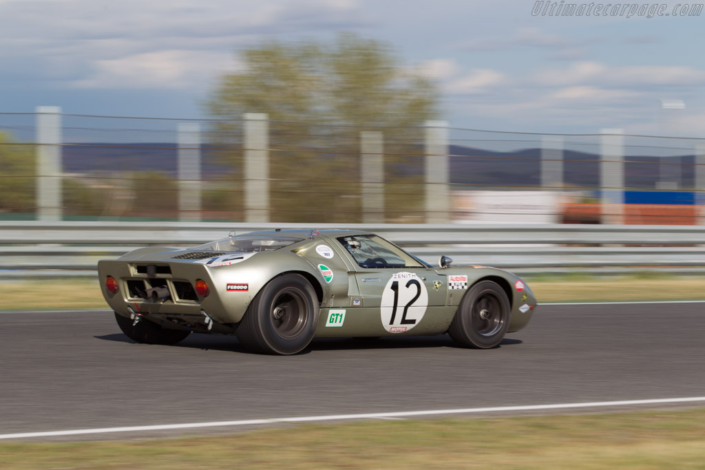 Ford GT40 - Chassis: GT40P/1078 - Driver: Claude Nahum  - 2017 Jarama Classic