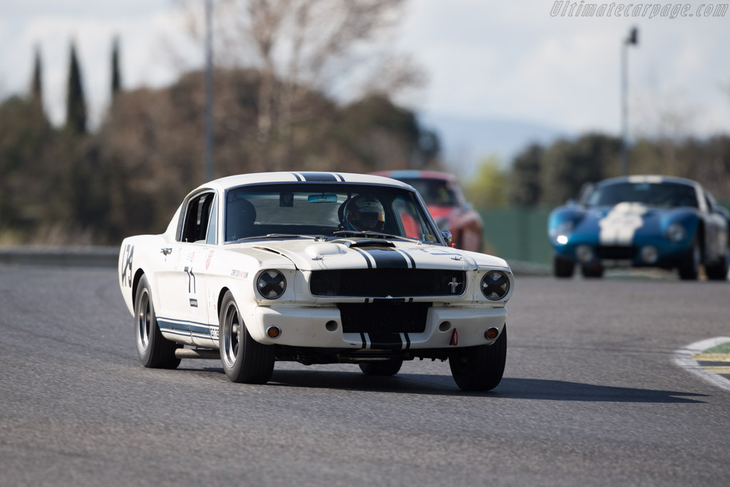 Ford Shelby Mustang GT350 R - Chassis: SFM5R096 - Entrant: Claude Nahum - Driver: Bernard Thuner  - 2017 Jarama Classic