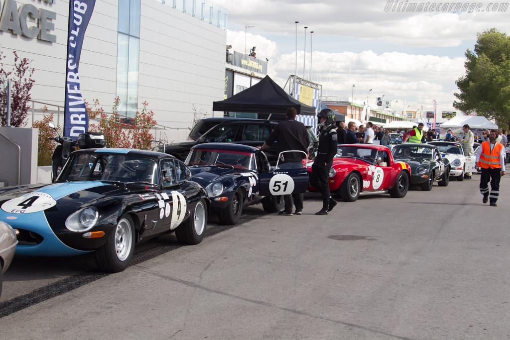 Jaguar E-Type - Chassis: 889226 - Driver: Alexis de Beaumont / John Bussell  - 2017 Jarama Classic