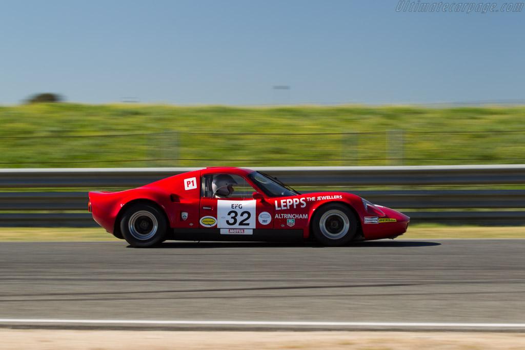 Lola T70 Mk3B  - Driver: Carlos Tavares / Richard Mille  - 2017 Jarama Classic