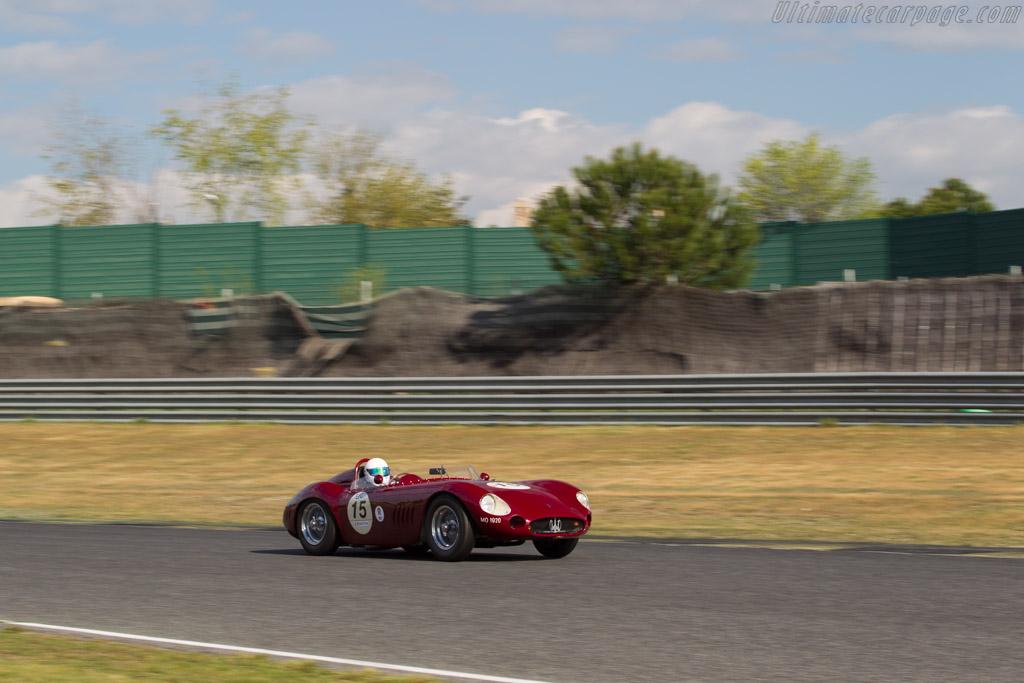 Maserati 300S - Chassis: 3082 - Driver: Martin Halusa / Lukas Halusa  - 2017 Jarama Classic