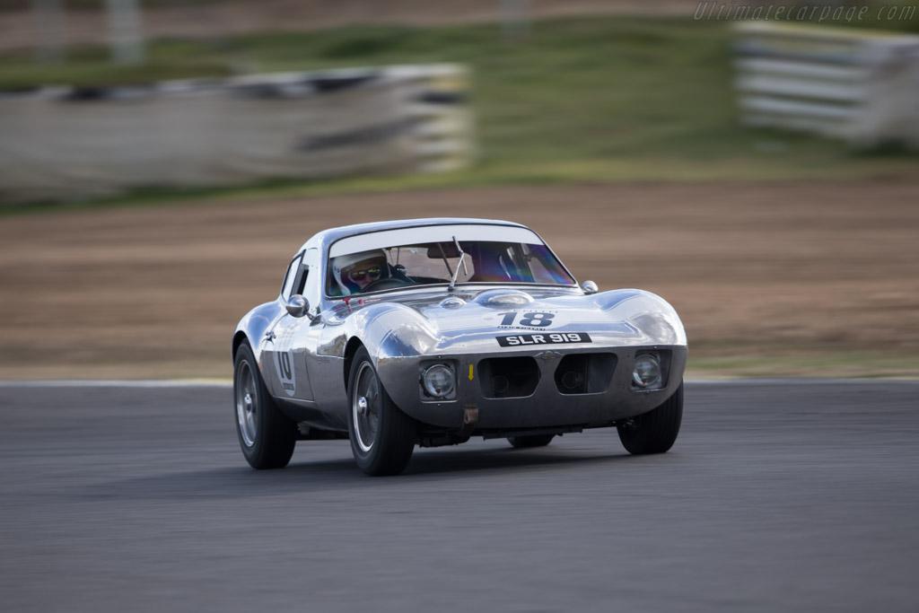 Morgan +4 SLR - Chassis: SLR4 - Driver: John Emberson / Bill Wykeham  - 2017 Jarama Classic