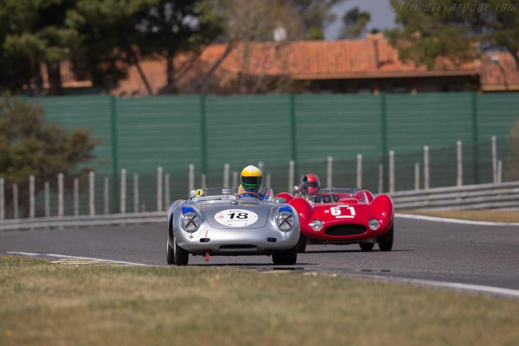 Porsche 550A - Chassis: 550A-0143 - Driver: Claudio Roddaro / Massimo Pedrazzi  - 2017 Jarama Classic