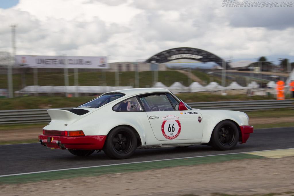 Porsche 911 RS  - Driver: Antonio Cubero  - 2017 Jarama Classic