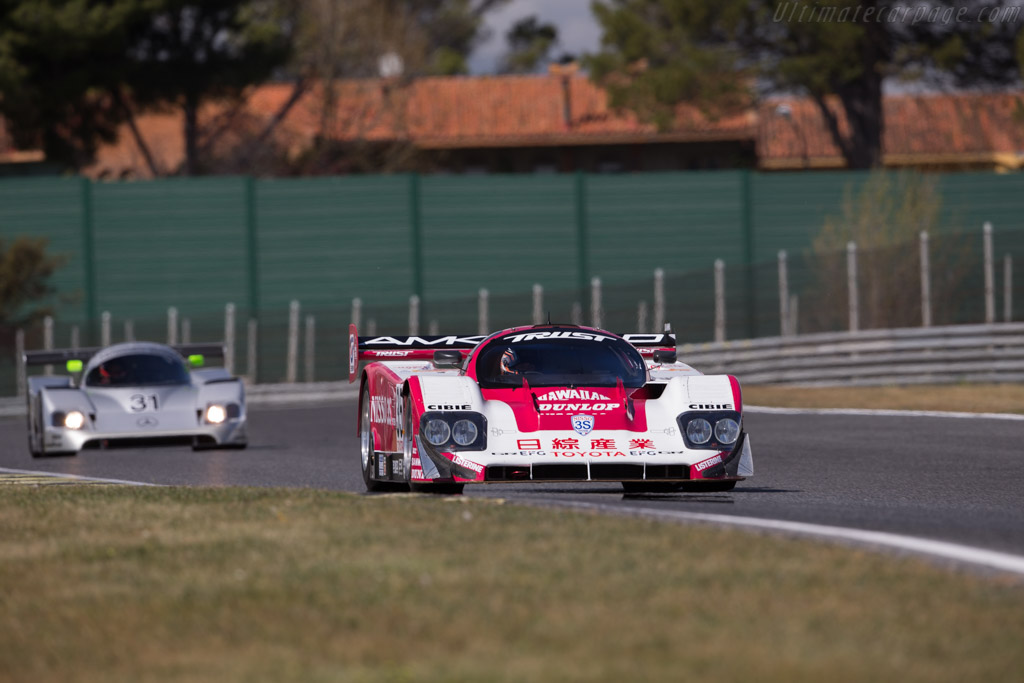 Toyota 92C-V - Chassis: 001 - Driver: Gerard Lopez / Vincent Radermacker  - 2017 Jarama Classic