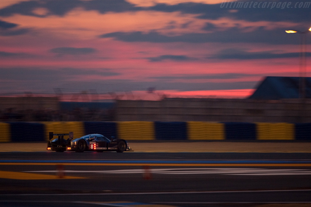 A beautiful sunset over Le Mans - Chassis: 908-07   - 2009 24 Hours of Le Mans