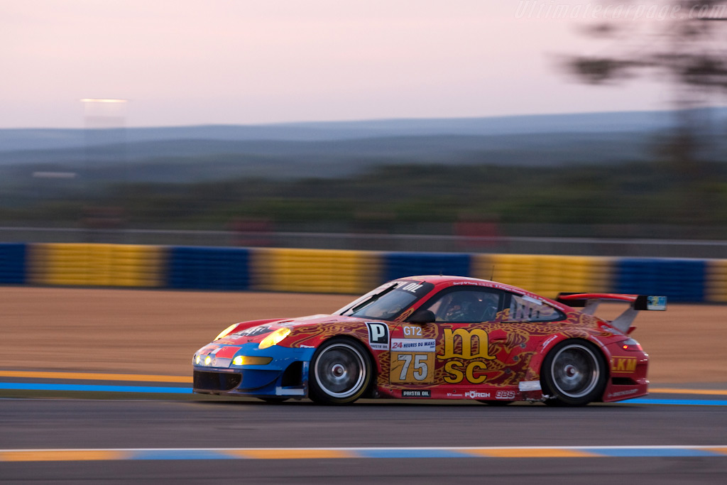 A mixed livery - Chassis: WP0ZZZ99Z9S799918   - 2009 24 Hours of Le Mans