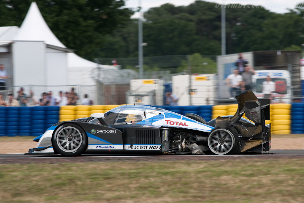 A puncture with major consequences - Chassis: 908-04   - 2009 24 Hours of Le Mans