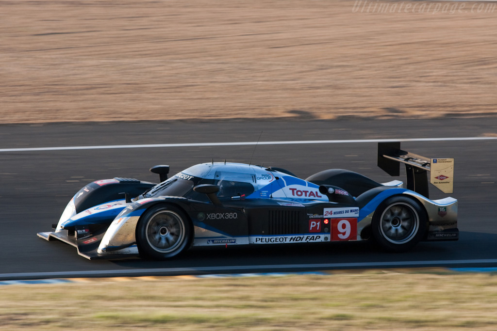 An Austrian, Australian and Spaniard in a French car - Chassis: 908-06   - 2009 24 Hours of Le Mans