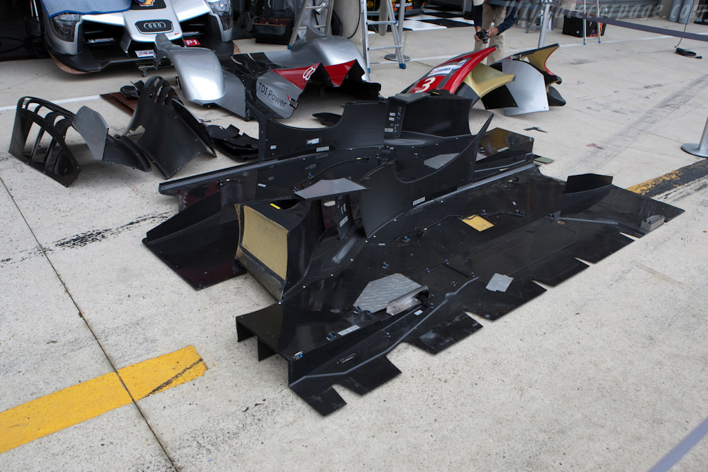 Audi Jigsaw - Chassis: 101   - 2009 24 Hours of Le Mans