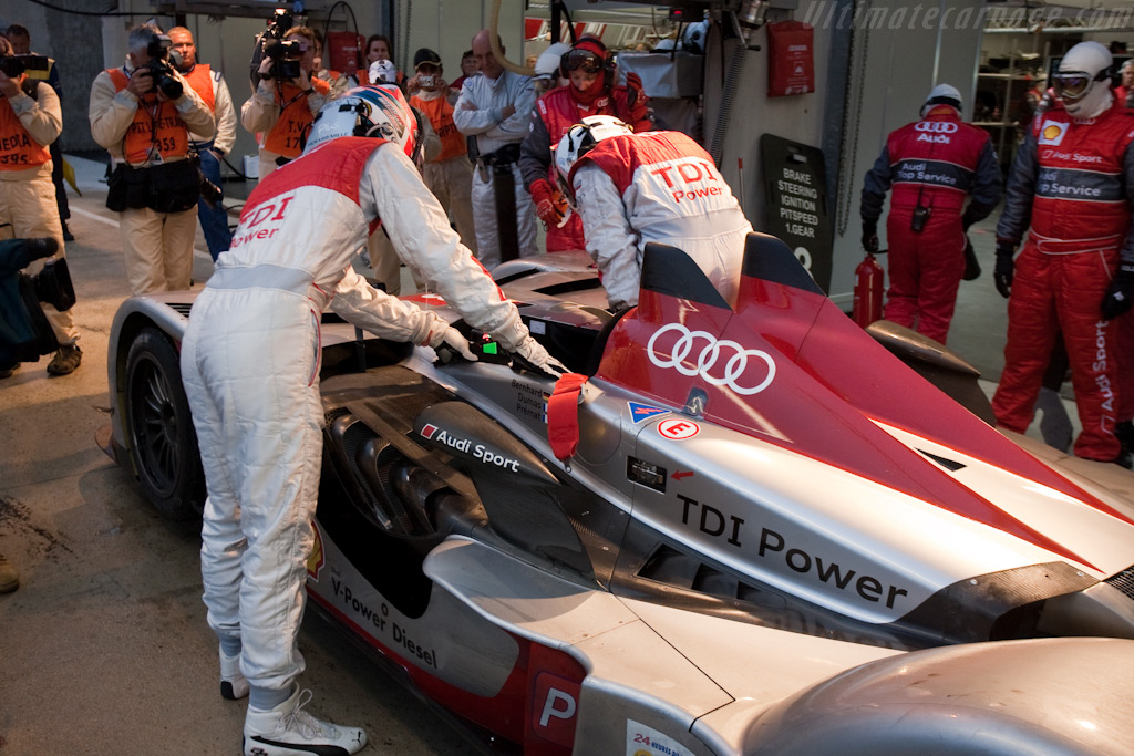 Audi driver change - Chassis: 101   - 2009 24 Hours of Le Mans