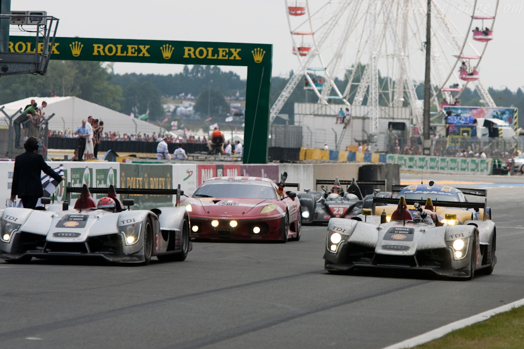 Audi took defeat like true sportsmen - Chassis: 105   - 2009 24 Hours of Le Mans