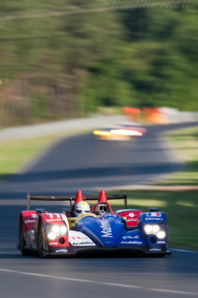 Ayari in the Oreca - Chassis: 02   - 2009 24 Hours of Le Mans