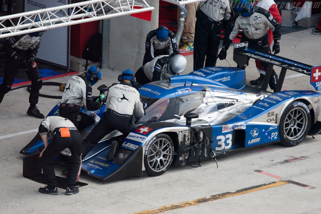 Battered but not broken - Chassis: B0880-HU01   - 2009 24 Hours of Le Mans