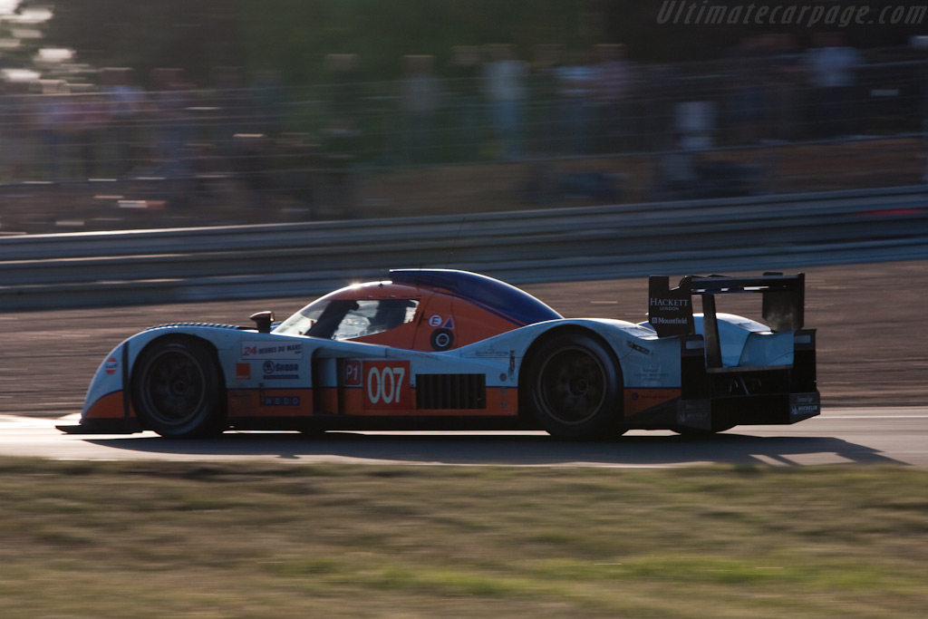 Beautiful silhouette - Chassis: B0960-HU02   - 2009 24 Hours of Le Mans