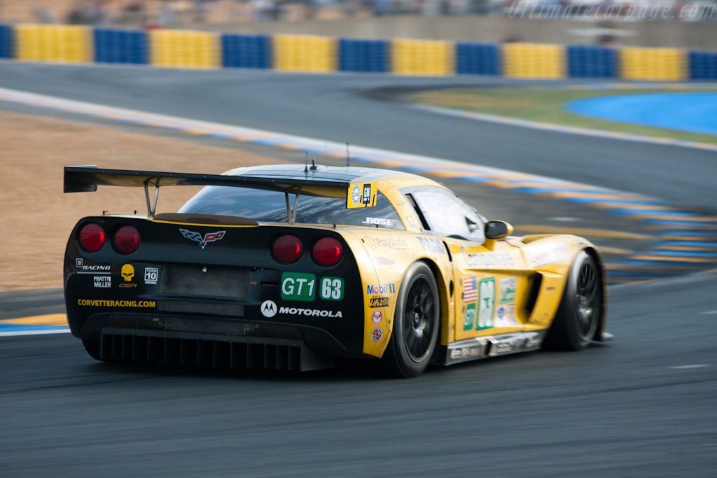 Corvette's final Le Mans appearance - Chassis: 007   - 2009 24 Hours of Le Mans