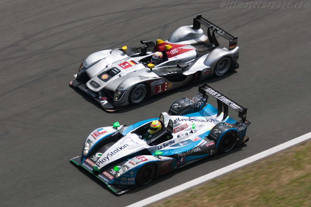 Diesel vs Petrol - Chassis: 105   - 2009 24 Hours of Le Mans